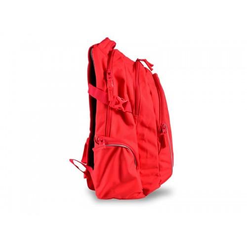 Batoh študentský One Colour červený STIL