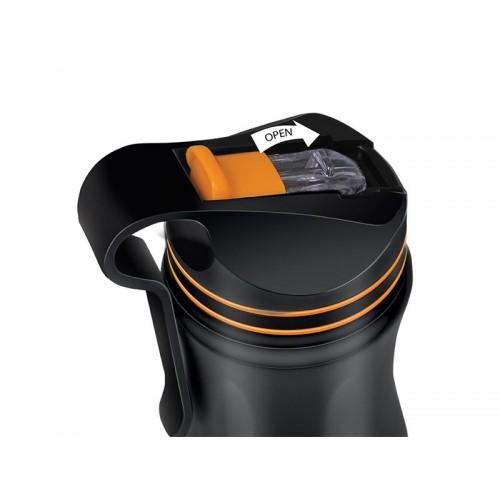 Termoska LAMART LT4048 HANG 550ml čierna/oranžová