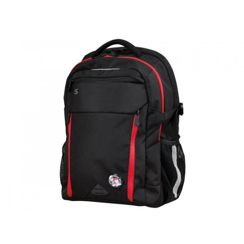 Batoh študentský Stil Black and Red