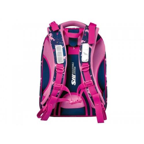Batoh školský Pink Unicorn STIL