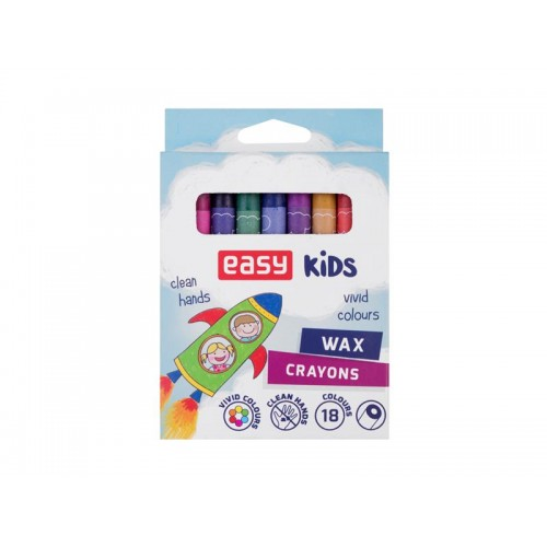 Voskovky EASY sada 18 farieb