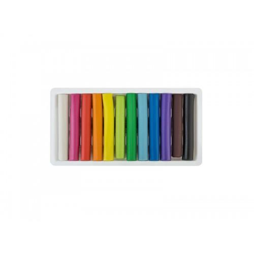 Plastelína EASY Creative sada 12 farieb, 192g