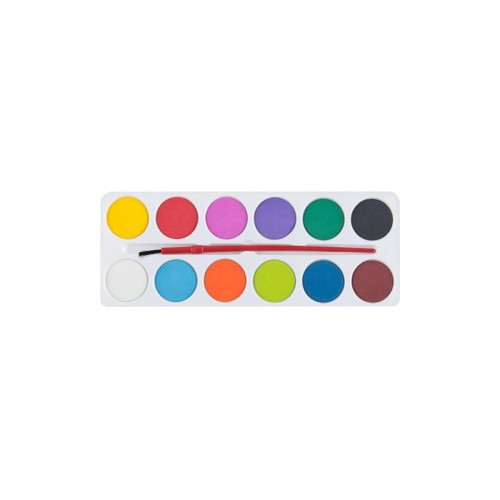 Farby EASY WaterColours vodové sada 12 farieb