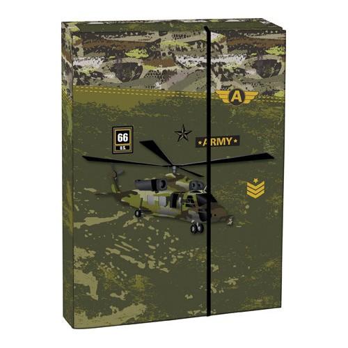 Box na zošity A4 Army STIL