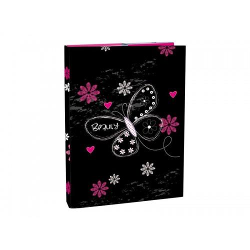 Box na zošity s chlopňou A4 Romantic 2 STIL