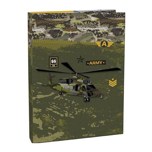Box na zošity s chlopňou A4 Army STIL