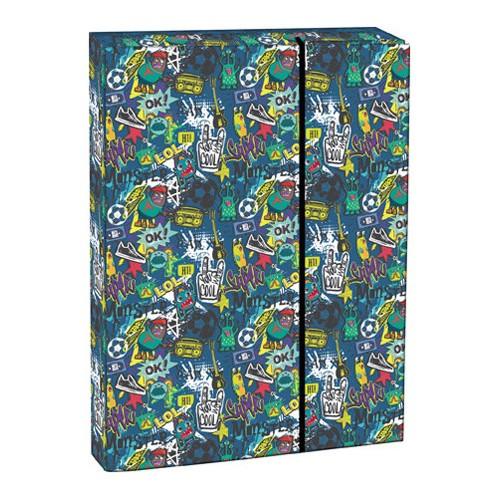 Box na zošity s chlopňou A4 Comics STIL