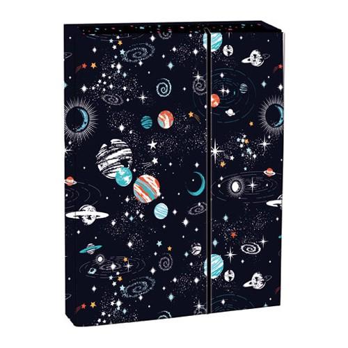 Box na zošity s chlopňou A4 Cosmos STIL