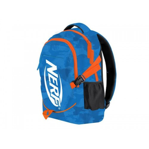 Batoh školský HASBRO BRONCO NERF modro-oranžový