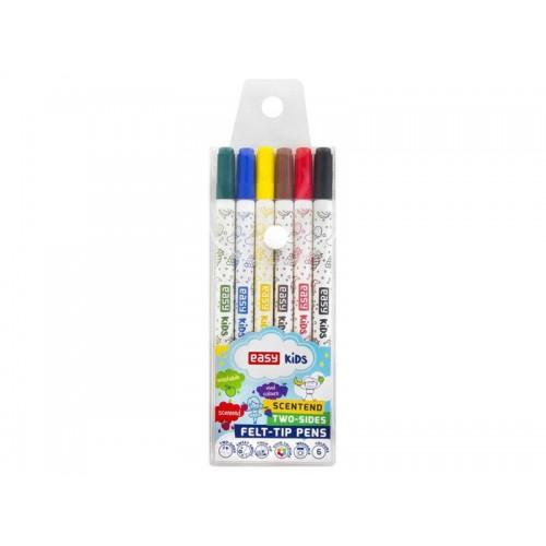 Fixky EASY obojstranné 6 farieb