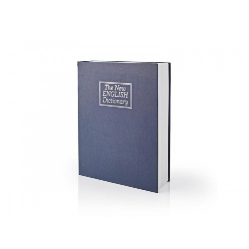 Trezor v tvare knihy NEDIS BOOKSEDL01BU