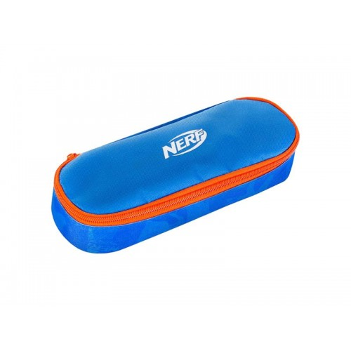 Etue s chlopňou HASBRO CHEST NERF modro-oranžové