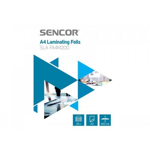 Fólie laminovacie SENCOR SLA FA4M200 A4 200mic 25ks