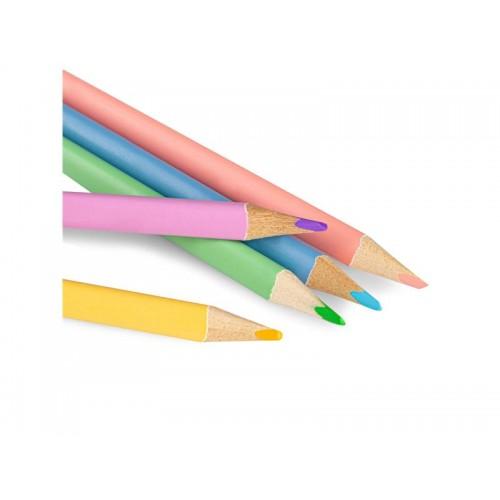 Pastelky EASY PASTEL trojhranné 12ks