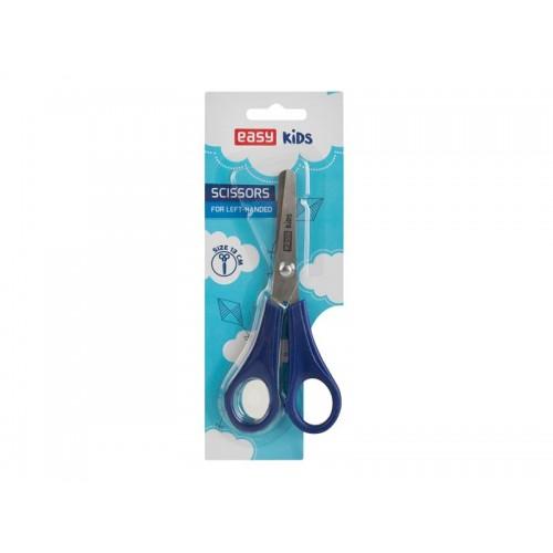 Nožnice pre ľavákov EASY 13cm modré