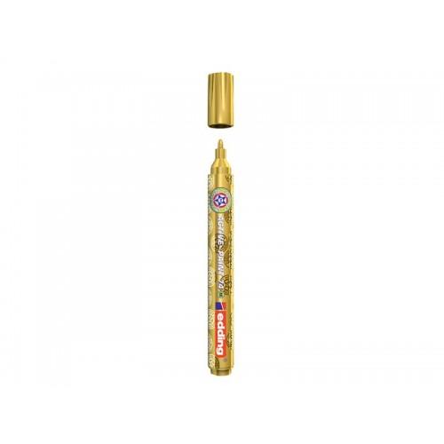 Popisovač kreatívny lakový Edding 74 M ACTIVE-PAINT zlatý 1-2mm