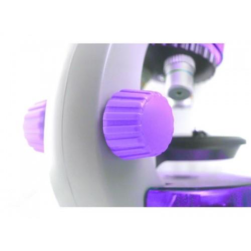 Mikroskop LEVENHUK LabZZ M101 fialový