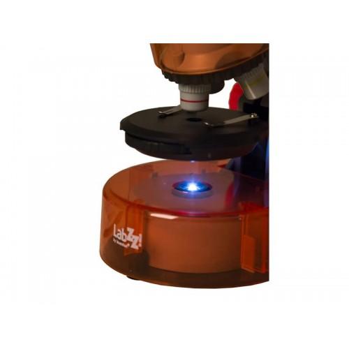 Mikroskop LEVENHUK LabZZ M101 oranžový