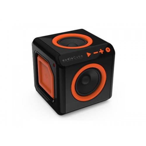 Reproduktor prenosný PowerCube AUDIOCUBE čierno-oranžový