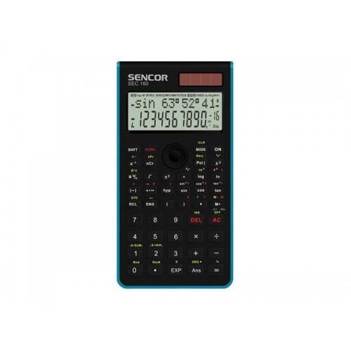 Kalkulačka školská SENCOR SEC 160 BU