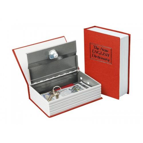 Bezpečnostná schránka - kniha 245x155x55mm, 2 kľúče, EXTOL CRAFT