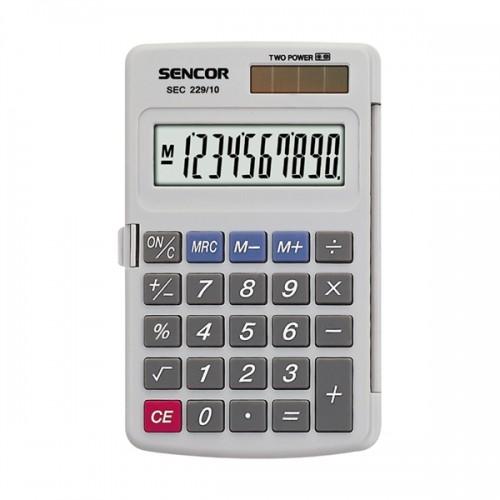 Kalkulačka vrecková SENCOR SEC 229/10 DUAL