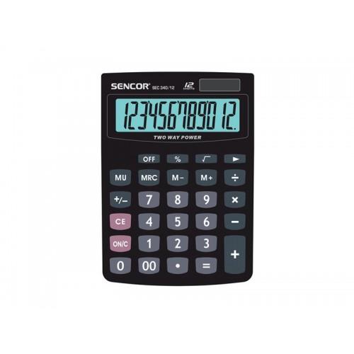 Kalkulačka stolná SENCOR SEC 340/12 DUAL