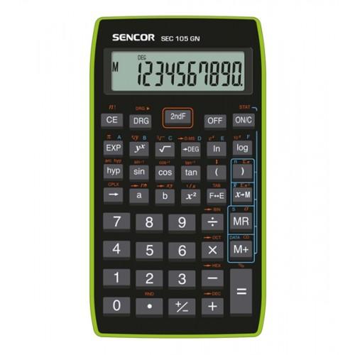 Kalkulačka školská SENCOR SEC 105 GN