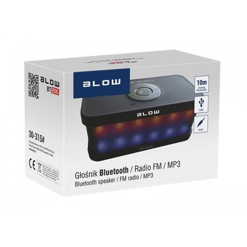 Reproduktor prenosný BLOW BT200 LED