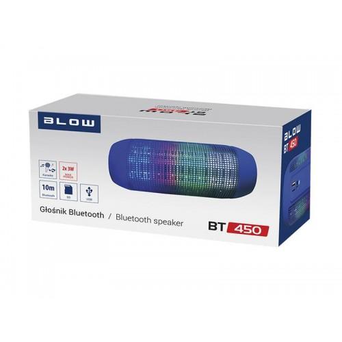 Reproduktor prenosný BLOW BT450 modrý